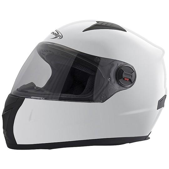 Casque de moto intégral Stormer SWIFT Blanc