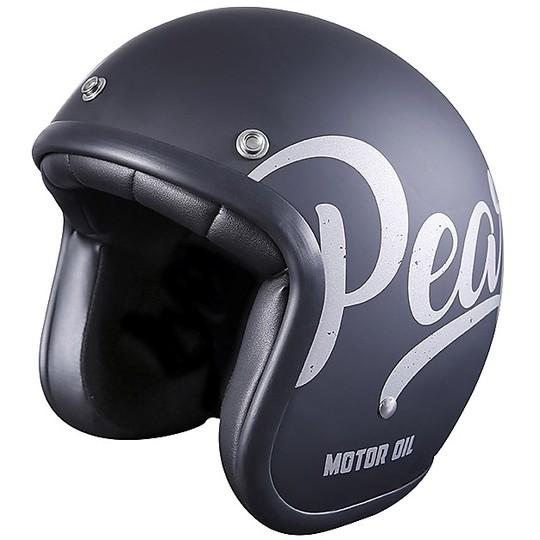 Casque de moto Jet Custom Stormer PEARL Oil