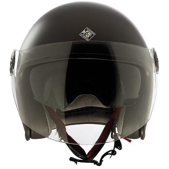 Casque de moto Jet en fibre Tucano Urbano EL'JET 1300 Matt Dark Grey