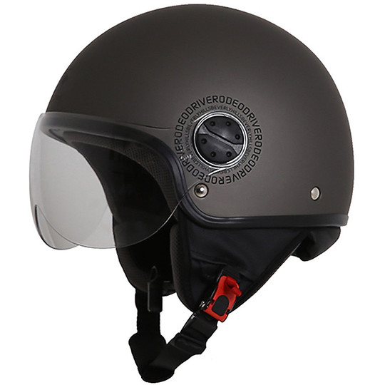 Casque de moto Jet Rodeo Drive RD104 Flash Anthracite Matt