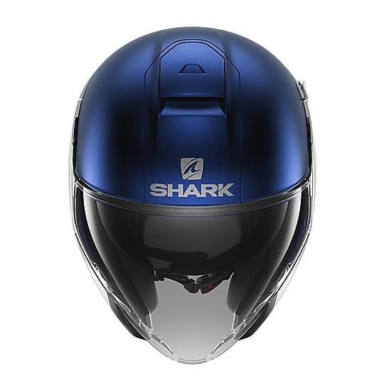 Casque de moto Jet Shark CITYCRUISE Dual Silver Matt Blue