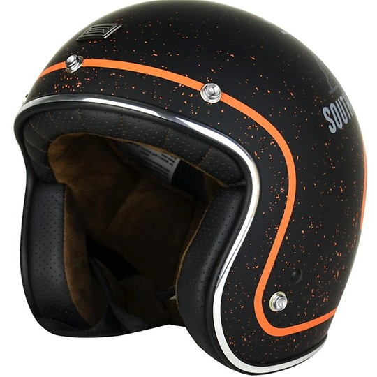 Casque de moto Jet Vintage origine First West Coast