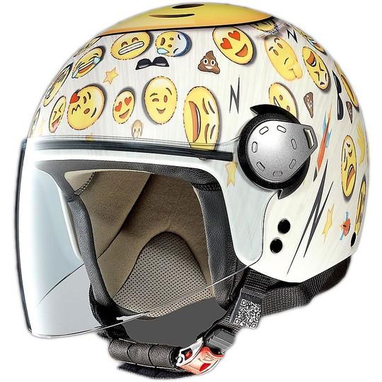 Casque de moto Mini Blow Jet Grex G3.1 Art Blow en Kiss Flat