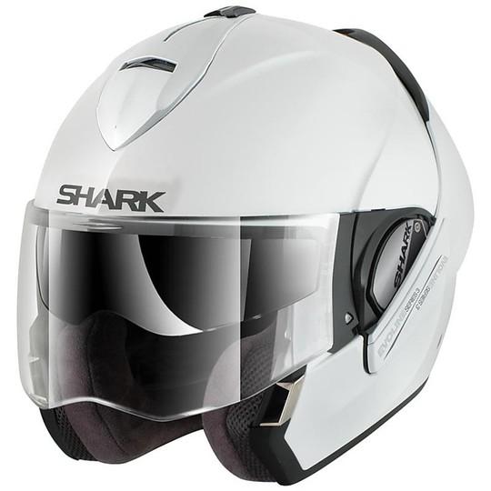 Casque de moto modulable Shark EVOLINE 3 Blanc