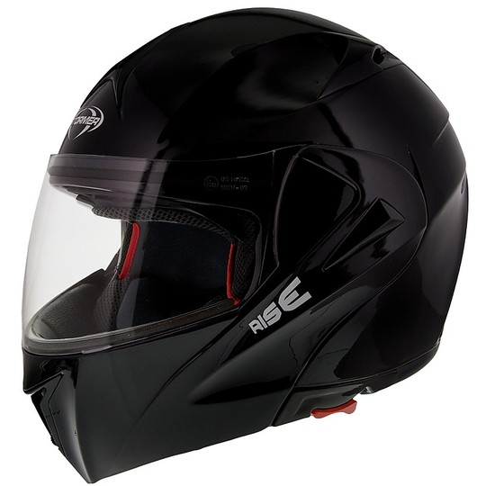 Casque de moto modulable Stormer RISE Uni Noir