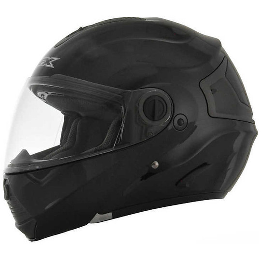 Casque de moto modulaire AFX FX-36 Solid Glossy Black