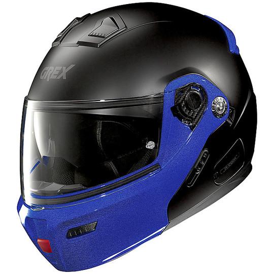 Casque de moto modulaire approuvé P / J Grex G9.1 Evolve 33 Couplè N-COM Matt Black