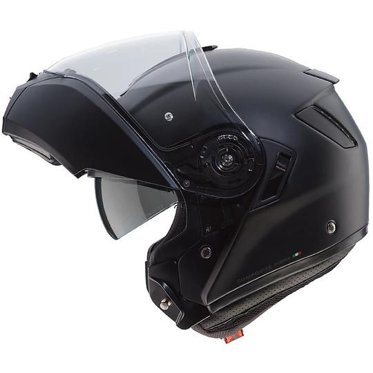 Casque de moto modulaire Caberg LEVO Matt Black