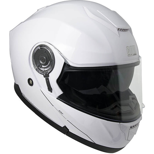 Casque de moto modulaire CGM 506A Osaka blanc