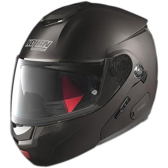 Casque de moto modulaire Nolan N90.2 Special N-COM Black Graphite