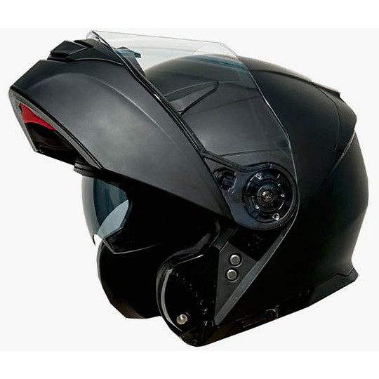 Casque de moto modulaire One Outline 2.0 Double Visor Matt Black