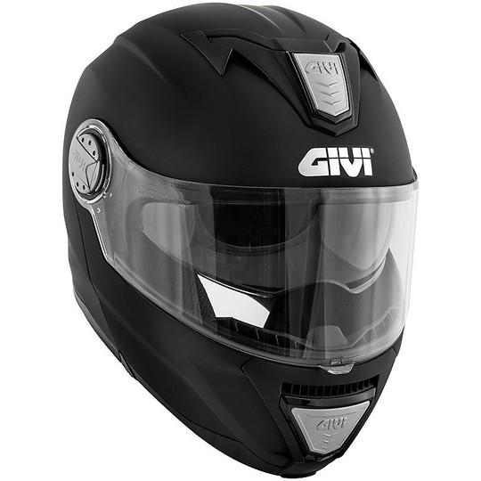 Casque de moto modulaire P / J Givi X.23 Solid Matt Black
