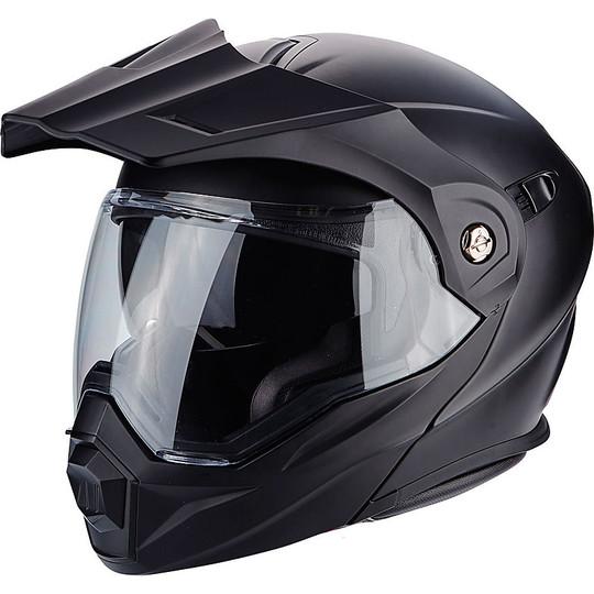 Casque de moto modulaire Scorpion ADX-1 Solid Matt Black