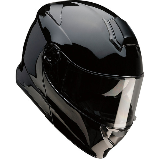 Casque de moto modulaire Z1r All Road Solaris Glossy Black