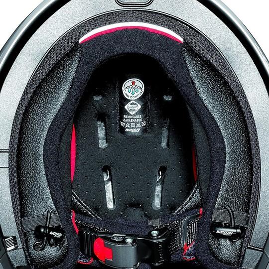Casque de moto ON-OFF Nolan N70.2 GT Special N-Com 015 Pure White Crossover