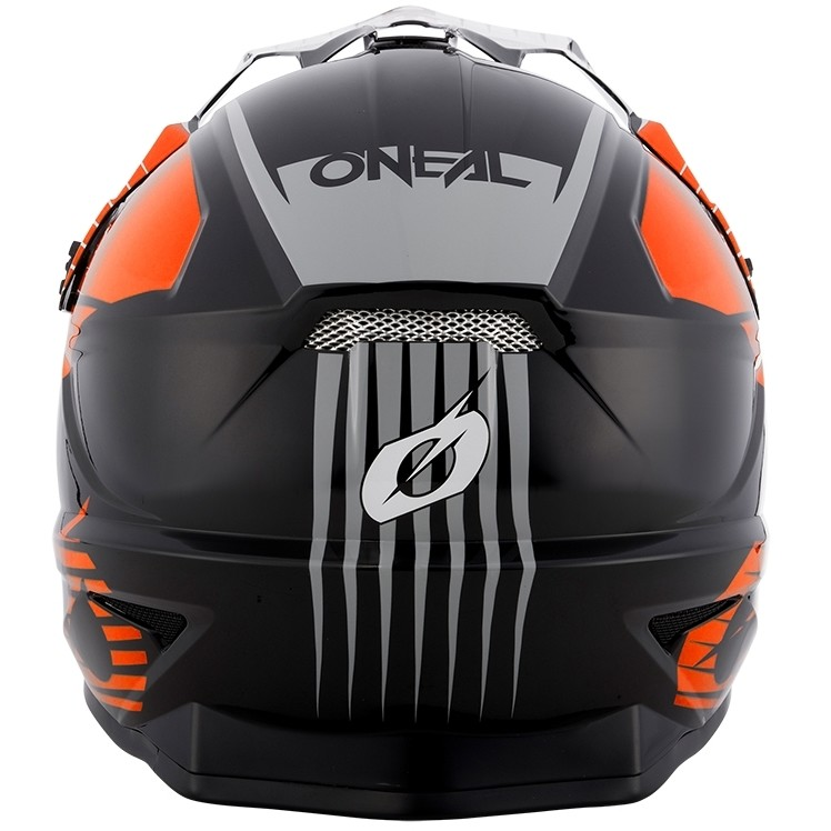Casque de moto Oneal 1Srs Helmettream Cross Enduro noir orange