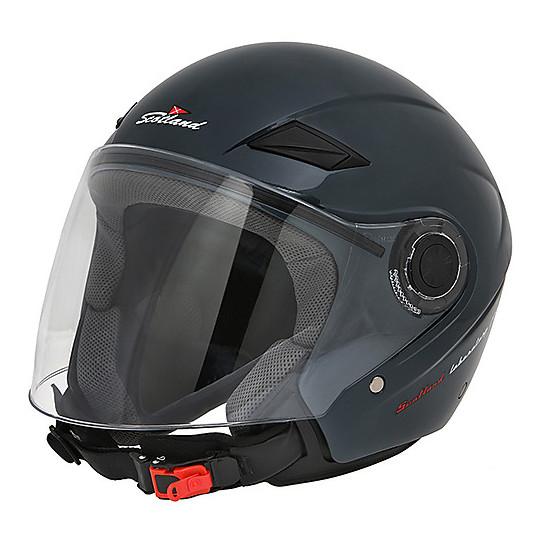 Casque de moto Scotland Force 03 Jet avec visière anthracite