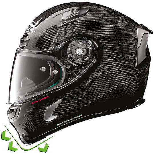 Casque de moto tout carbone X-Lite X-803 RS Ultra Carbon REPLICA 021 D.Petrucci