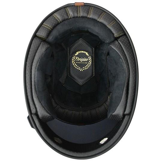 Casque de moto vintage intégral Origin VEGA Limited Edition TEN BLACK