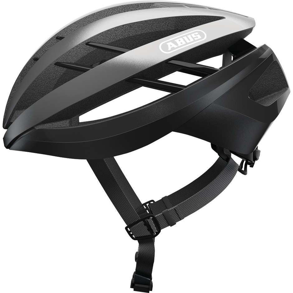 Casque de vélo Abus Aventor Ventilated Gleam Silver