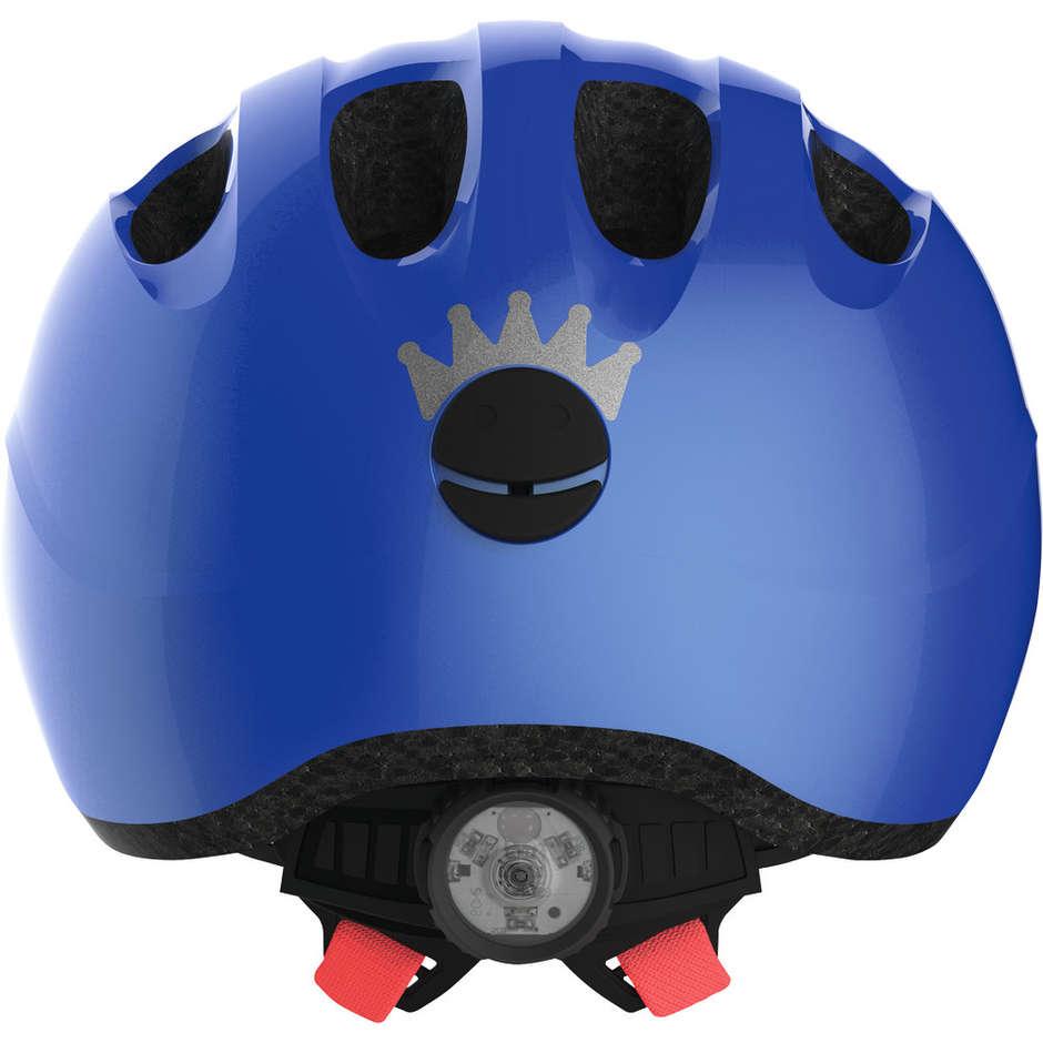 Casque de Vélo Abus Smiley 2.1 Enfants Bleu