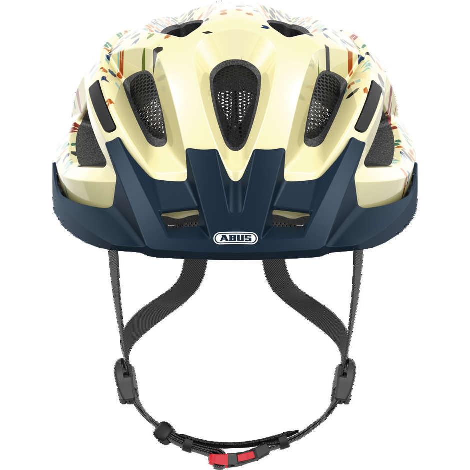 Casque de vélo Abus Sportivo Aduro 2.0 Cream Floreal