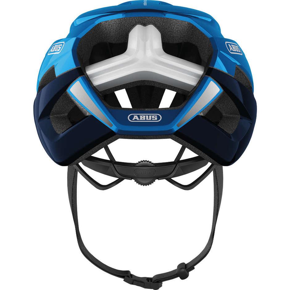 Casque de vélo Abus Strada Storm Chaser Chrome Bleu
