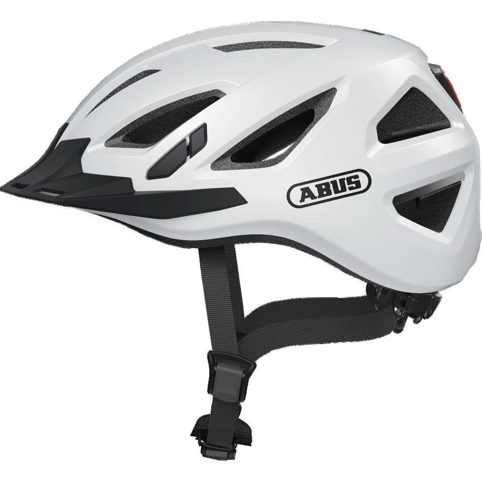 Casque de vélo Abus Urban-I 3.0 Blanc Polar