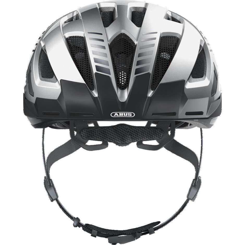 Casque de Vélo Abus Urban-I 3.0 Signal Argent Argent