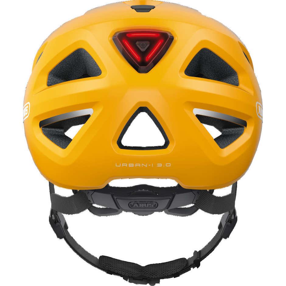 Casque de vélo Abus Urban-I 3.0 Yellow Icon