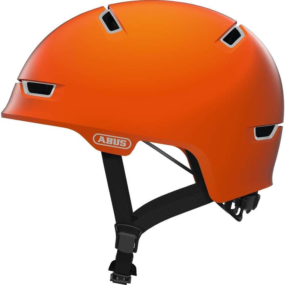 Casque de vélo Abus Urban Scraper 3.0 Ace Orange Signal