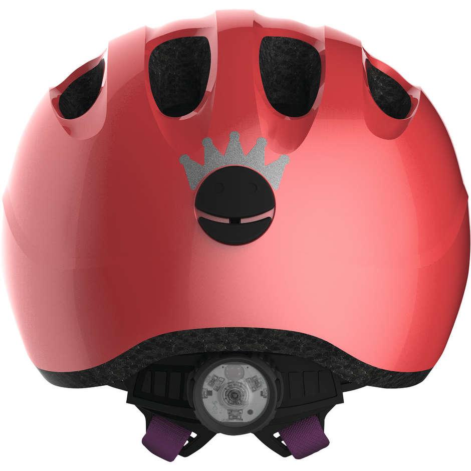 Casque de vélo enfant Abus Smiley 2.1 - Pink Peach