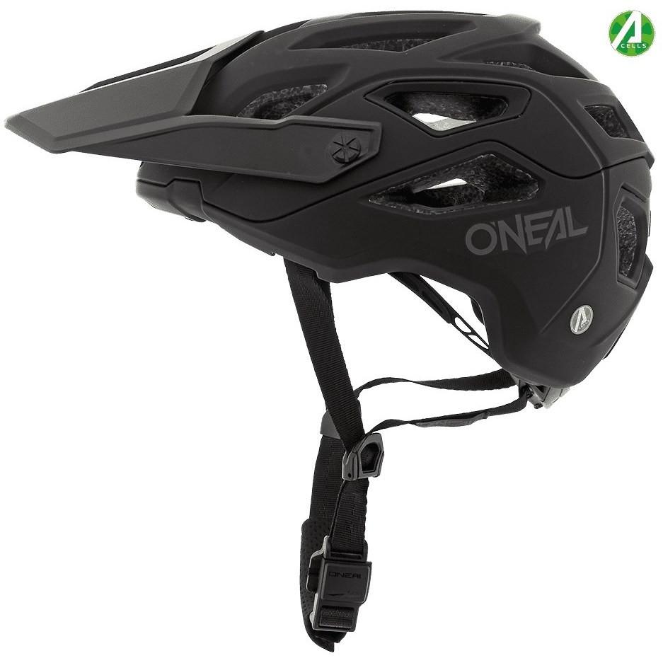 Casque de vélo Oneal Mtb eBike Pike Solid IPX noir gris