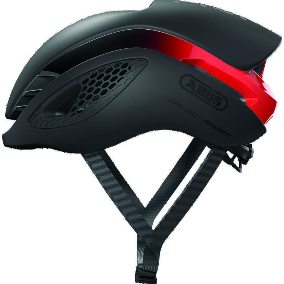 Casque de vélo professionnel Abus Game Changer noir rouge
