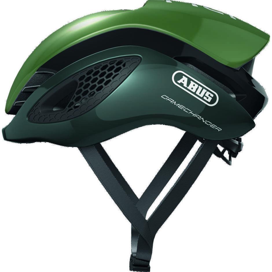 Casque de vélo professionnel Abus Game Changer Vert olive