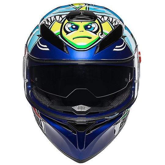 Casque intégral double visière Agv K3 SV Top ROSSI MISANO 2015