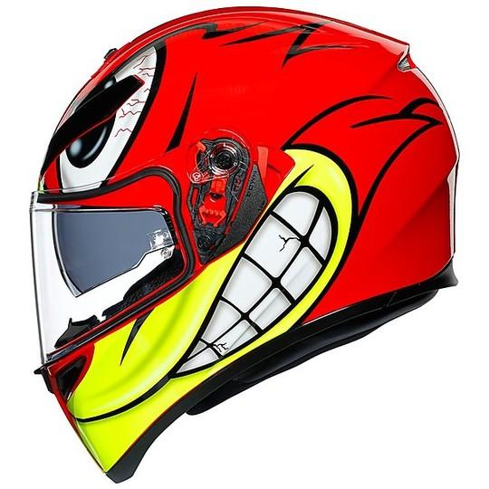 Casque intégral double visière moto Agv K3 SV Multi BIRDY