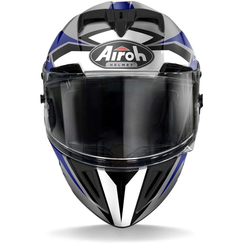 Casque intégral en Airoh Motorcycle Fiber GP550 S Wander Glossy Blue