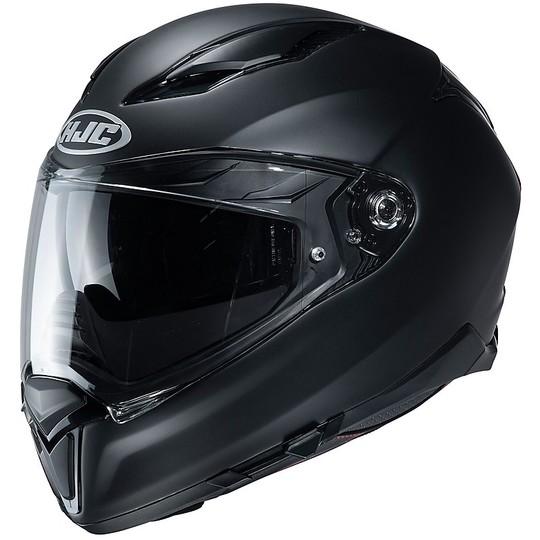 Casque intégral en double fibre Visor Motorcycle HJC F70 Semi Matt Black