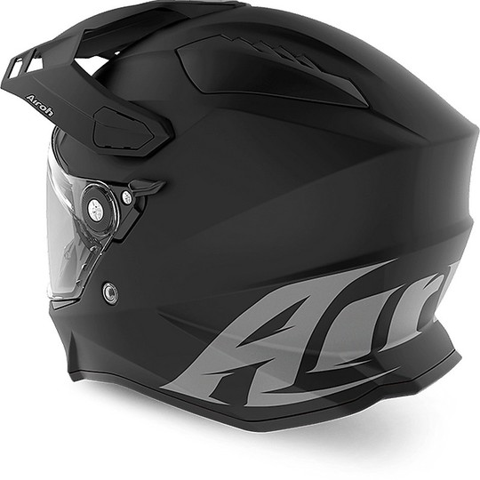 Casque intégral ON-Off Moto Touring Airoh COMMANDER Couleur Matt Black
