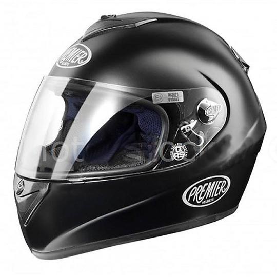 Casque intégral Premier Moto U9 BM Range Matt Black