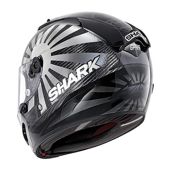 Casque intégral Racing Moto Shark RACE-R PRO Carbon Replica Zarco GP France 2019