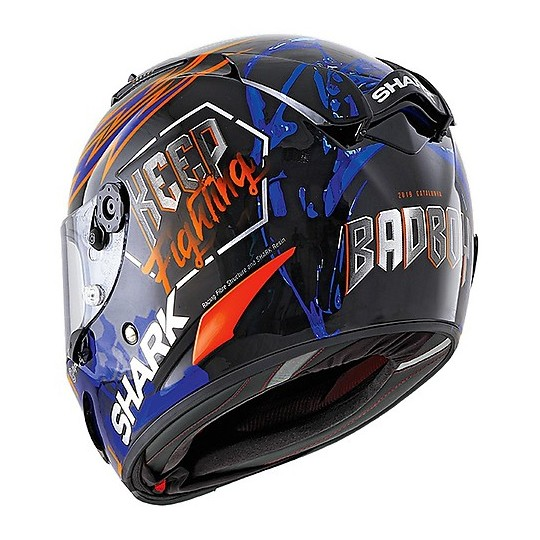 Casque intégral Racing Moto Shark RACE-R PRO Replica Lorenzo Catalunya GP 2019