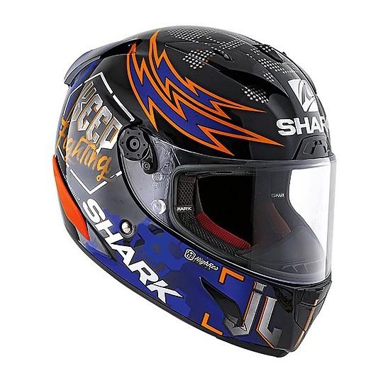 Casque intégral Racing Moto Shark RACE-R PRO Replica Lorenzo Catalunya GP 2019
