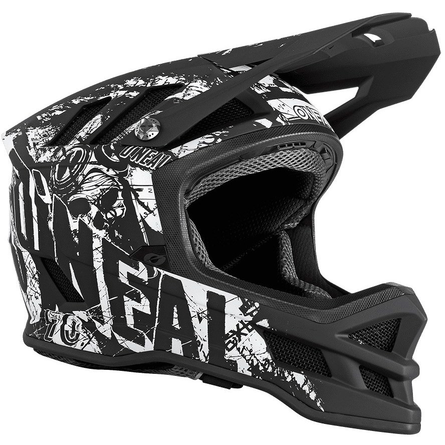 Casque Intégral Vélo Mtb eBike Oneal Blade Rider Matt Black