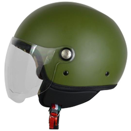 Casque Jet Origin Mio Vert Militaire
