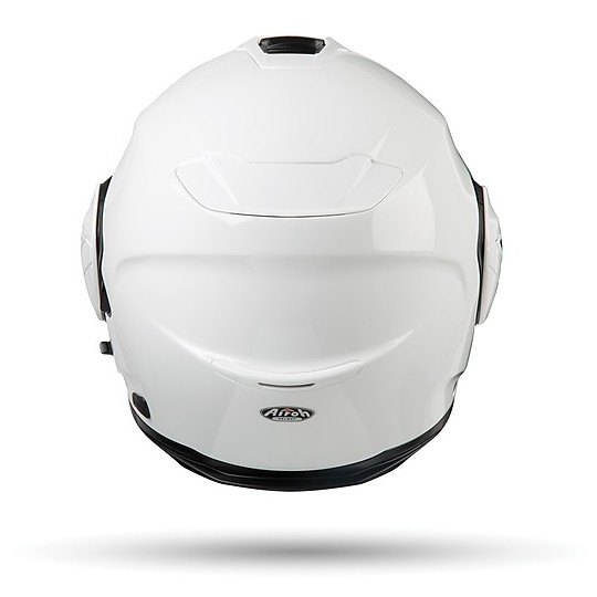 Casque modulable Flip UP Motorcycle Airoh REV 19 COLOR Glossy White