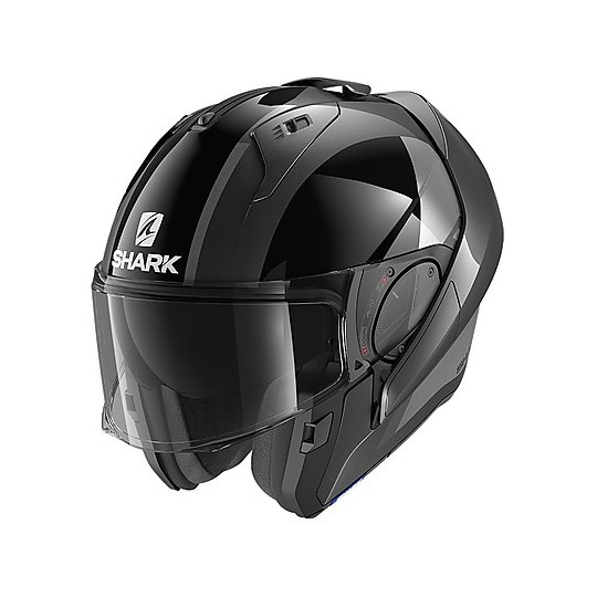 Casque Modulaire Chin Guard Moto Shark EVO ES Endless Anthracite Black