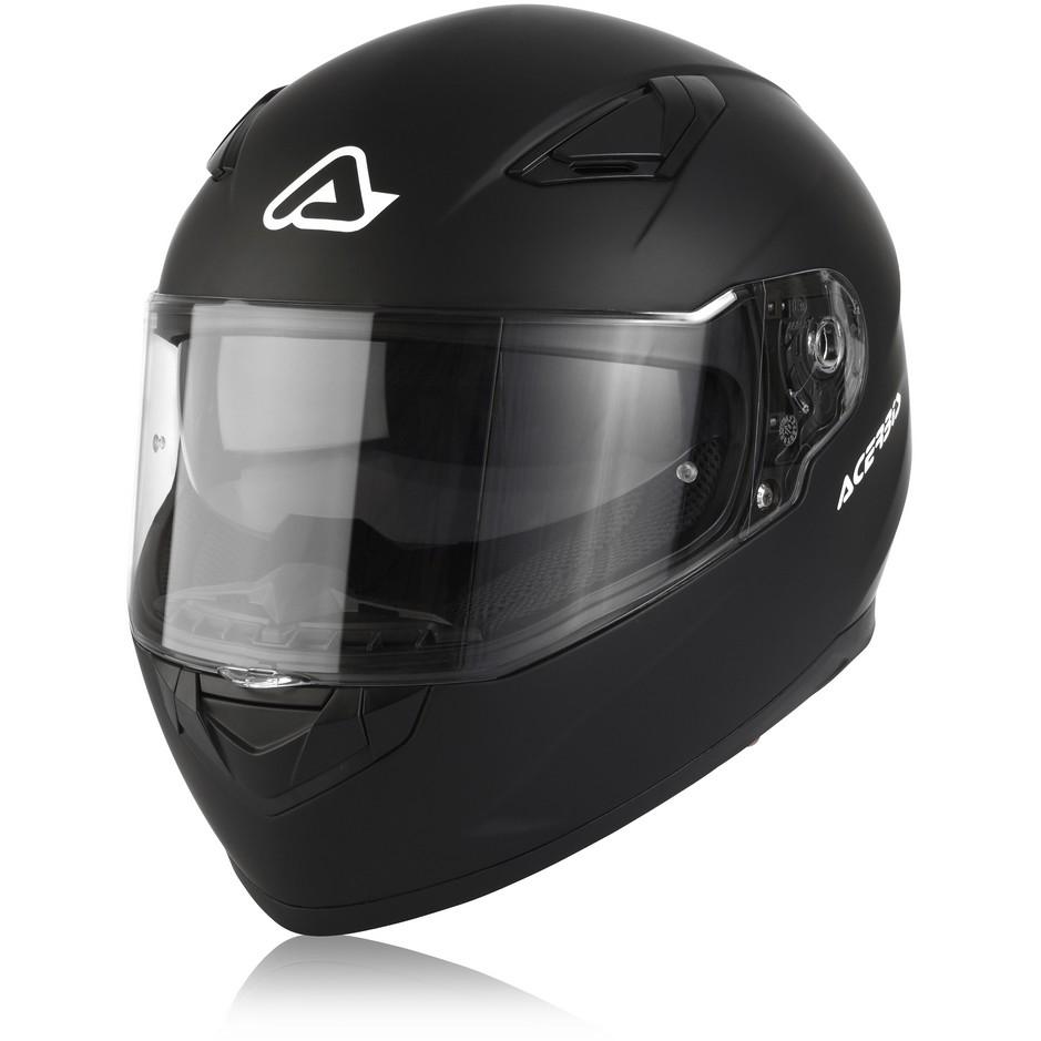 Casque Moto Acerbis X-STREET Integral Noir Mat