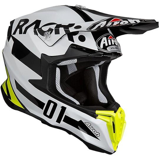 Casque Moto Cross Enduro Airoh Twist RACR Glossy